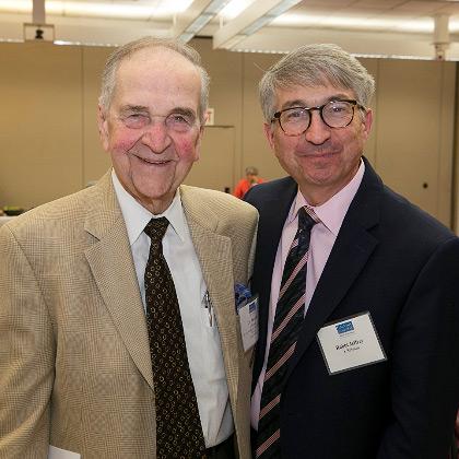Dr. Michael Brescia and Rabbi Jeffrey J. Sirkman